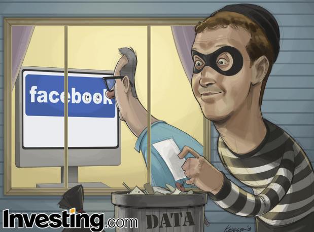 Las acciones de Facebook caen al persistir la tormenta