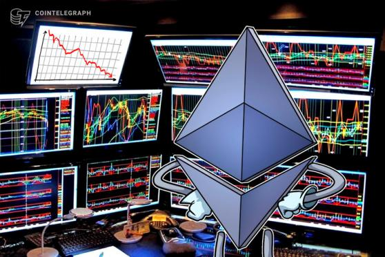 El precio de Ethereum cae por debajo de USD 600 mientras la demanda hacia XRP desestabiliza el mercado de las altcoins