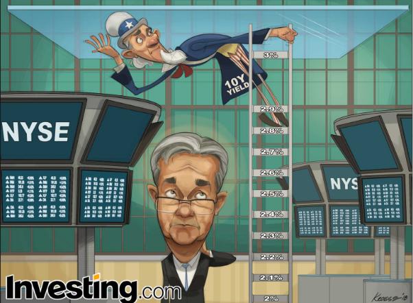 Los bonos del Tesoro estadounidense a 10 años alcanzan el 3%