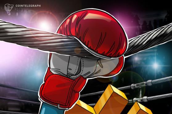 El precio de Bitcoin se desploma un 6.5% en cuestión de minutos luego de alcanzar un muro de venta en los 28,400 dólares