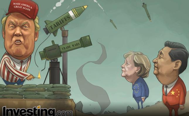 Los aranceles de Trump disparan los temores de una guerra