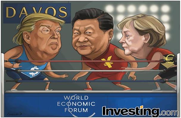 Miedo de una guerra comercial por la presencia de Trump en Davos