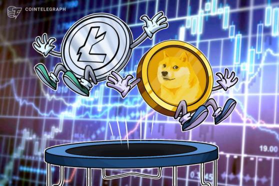 Litecoin, Dogecoin y las altcoins de gran capitalización subieron cuando el precio de Bitcoin alcanzó los 23,800 dólares