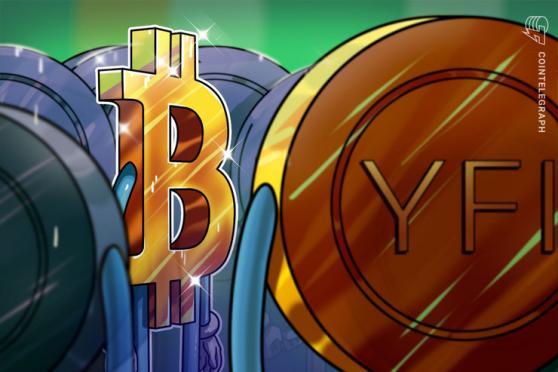 YFI se convierte en la primera altcoin en superar el precio de Bitcoin